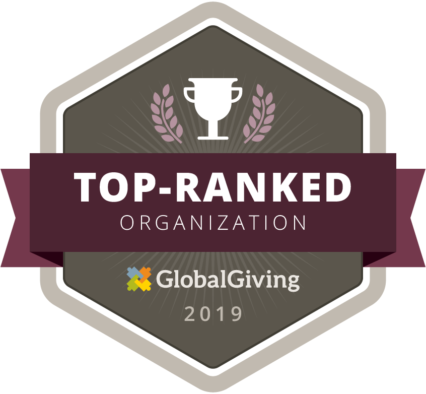 GlobalGiving top rank Organization 2019